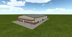 Cool 3D #marketing http://ift.tt/2hEq3N5 #barn #workshop #greenhouse #garage #roofing #DIY