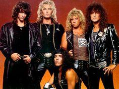 80s Metal Bands, 80s Hair Metal, Hair Metal Bands, 80s Rock Bands, 80 Bands, Glam Metal, Patrick Swayze, 80s Music, Rock Music