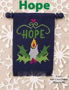 Hope from the Jul/Aug 2016 issue of Just CrossStitch Magazine. Order a digital copy here: https://www.anniescatalog.com/detail.html?prod_id=132142