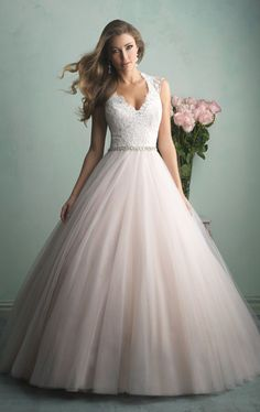 Vestido de noiva de tule de Ticiana Villas Boas