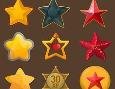 """Check out new work on my @Behance portfolio: """"Free Game Stars"""" http://be.net/gallery/55229193/Free-Game-Stars"""