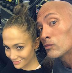 Jennifer Lopez, Dwayne Johnson - Stars without makeup on Instagram in 2017