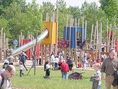 Neuland-Park Leverkusen: Spielen