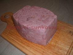 Recept na domácí šunku. Recept na základní vepřovou šunku v šunkovaru. Canned Meat, Sous Vide, Remedies, Herbs, Beef, Cheese, Homemade, Canning, Cake