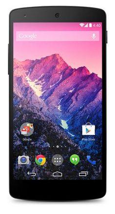Google lanza oficialmente el smartphone Nexus 5 con Android 4.4 Kit Kat - Especificaciones Completas
