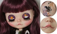 100 OFF Plum OOAK Custom TBL Blythe Doll podle customblythe