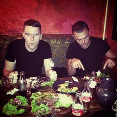 Photo by adamhurts Instagram   Theo Hutchcraft Adam Anderson  HURTS