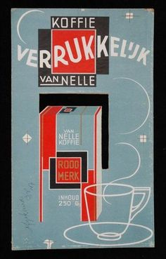 vintage Van Nelle coffee advertisement