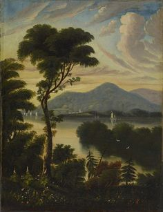 Thomas Chambers Landscape, c. 1830 Oil on canvas