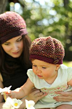 Ava hat - child to adult sizes
