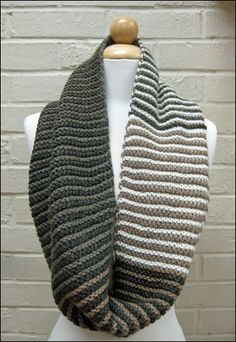 A lovely neutral version of the Shift Cowl. bliss yarns | news | yarn - knitting - crochet