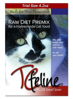 50 best homemade raw cat food how to make images on pinterest just add the mix with raw meat and water to create a balanced homemade raw cat food diet forumfinder Choice Image