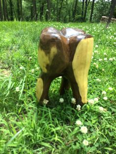 Chainsaw Folk Art Wooden Walnut Tooth by TJ Jenkins (Tiberious Johanson) Chainsaw Carver