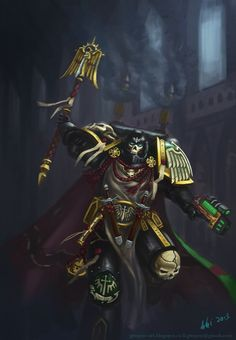 DeviantArt is the world's largest online social community for artists and art enthusiasts, allowing people to connect through the creation and sharing of art. Warhammer Armies, 40k Armies, Warhammer 40k Art, Warhammer Models, Fantasy Pictures, Star Pictures, Dark Angels 40k, Space Wolves, Angel Of Death