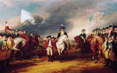 """British General Lord Cornwallis surrendered 8,000 British soldiers and seamen to a larger Franco-American force, effectively bringing an end to the American Revolution"""" on 19 October 1781."""