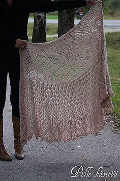 Ravelry: pillar's Vernal shawl * Free pattern; Someday