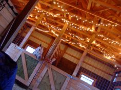 Lights in the rafters...how gorgeous. by Brittany Hunter, via Flickr