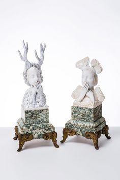 ☥ Figurative Ceramic Sculpture ☥  Fabienne Auzolle