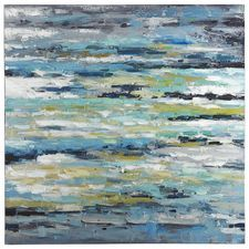 Choppy Waters Abstract Art