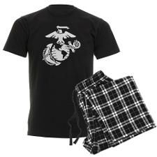 USMC pajamas, for a girlfriend, or family member of a Marine to keep them close at heart