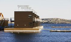 Salt & Sill. Originally a floating restaurant, has now been expanded to include a hotel. Sweden
