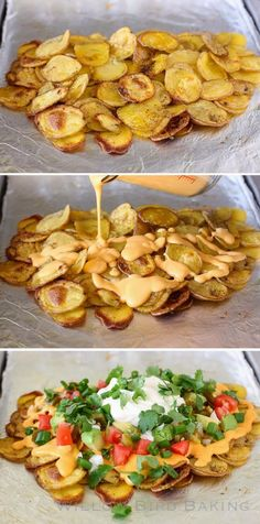 Over-the-Top Loaded Potato Nachos
