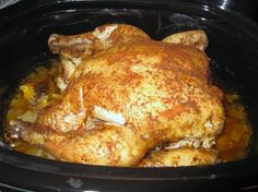 Crock Pot Whole Chicken Recipe - Food.com - 33671 5 stars after 688 reviews! Can't wait to try