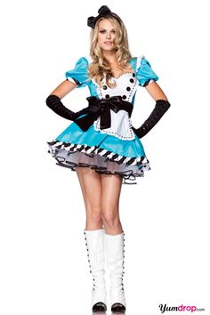 Sexy Alice Costume, Alice Halloween Costumes
