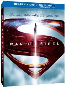 Amazon.com: Man of Steel (Blu-ray+DVD+UltraViolet Combo Pack): Henry Cavill, Amy Adams, Michael Shannon, Kevin Costner, Diane Lane, Laurence...