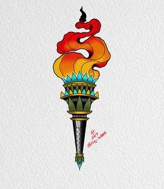 Torch ? Torch . #ipadproart #procreateart #torchtattoo #neotraditionaltattoo #neotraditionaldesign #newbrunswicktattoo #njtattooartist #newjerseytattoo #njtattoo #spotswoodnj #moderntimestattoo #tattooart #tattoo_art #tattoolove #tattoolife #tattooflash #tattoodesign #tattooaddict #tattooartist