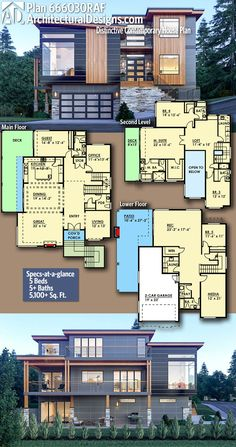 Love this floor plan - needs the garage on the right though vs underneath.