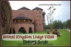 Animal Kingdom Lodge Villas Guide from themouseforless.com #DisneyWorld #Vacation