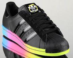 adidas Originals Superstar 80s Rita Ora women lifestyle sneakers NEW black in Clothing, Shoes & Accessories | eBay