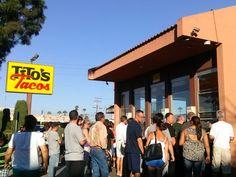 Tito's Tacos in Los Angeles