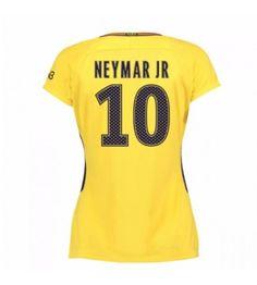 PSG Neymar Jr 10 Bortatröja Dam 17-18