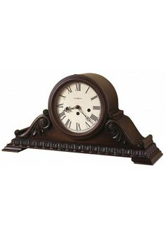 Americana Cherry Finish, Westminster Chime German Movement, 630-198 Newley Howard Miller Mantel Clock