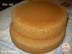 Diós piskóta tészta alaprecept Choco Fresh, Poppy Cake, Torte Cake, Hungarian Recipes, Winter Food, Hot Dog Buns, Cake Recipes, Cake Decorating, Bakery