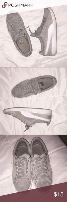 Puma Classic Suede Pretty worn but still good condition. These shoes are very comfortable. Puma Shoes Sneakers