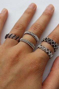 Woven Wire Rings DIY Tutorial Pictorial | instructibles.com