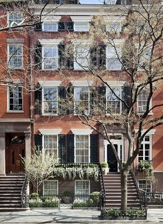 Gorgeous brick Greenwich Village townhouse lovingly renovated by... - The Foo Dog Ate My Homework