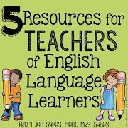 5 Resources for Teachers of English Language Learners from Hello Mrs Sykes