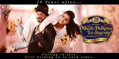 Shah Rukh Khan and Kajol recreate the iconic Dilwale Dulhania Le Jayenge poster after 20 years!