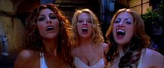 Jennifer Esposito, Jeri Ryan and Colleen Fitzpatrick, Dracula 2000.