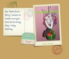 fresh fruit fairy ~Health mouse~                                      by ~bl~L