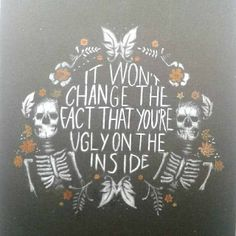 """The Maine's Facebook photo quote """"Congrats @monsterlivinginadream on being the final winner of the #UglyOnTheInside contest! Just over a week until we release 5 new songs with the Forever Halloween Deluxe Edition!"""""""
