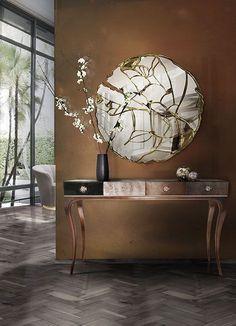 Best Interior Design, Modern Interior Design, Luxury Interior, Interior Design Inspiration, Luxury Furniture, Furniture Design, Interior Decorating, Design Ideas, Mirror Furniture