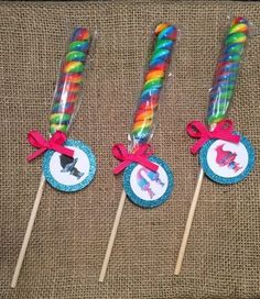 Trolls Party Favors GIANT Lollipop Twist - Party Favor - Trolls Birthday Party - Princess Poppy Branch Diamond Guy Goodie Bag - Birthday Party - 10 Lollipops