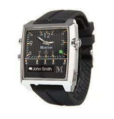 Martian Passport Smart Watch (Black/Silver/Black) - Only $299 #smartwatch