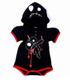 Voodoo doll baby onesie ( just a bit disturbing)