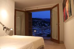 Bedroom view Casita Sal de Mar, Port de Soller. www.sollersecrets.com